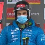 Zan Kranjec führt in Santa Caterina nach dem ersten Riesenslalomdurchgang