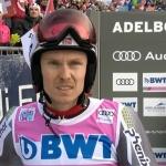 Henrik Kristoffersen greift beim Riesentorlauf in Adelboden nach dem Sieg