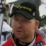 Klaus Kröll mit Bestzeit beim 1. Abfahrtstraining in Chamonix