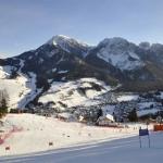 Der Kronplatz ist bereit für die Riesentorlauf Show auf der ERTA