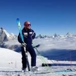 Marc Gisin und Patrick Küng wieder zurück auf dem Schnee