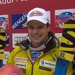 Hausherr Patrick Küng gewinnt verkürzte Lauberhornabfahrt 2014