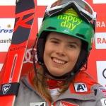 Katharina Liensberger gewinnt 2. Europacup Riesenslalom in Zinal