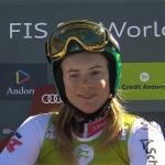 Die österreichische Riesentorlaufmeisterin 2019 heißt Katharina Liensberger