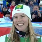 Katharina Liensberger will nach der Corona-Krise ganz nach vorne stürmen