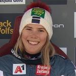Katharina Liensberger freut sich auf ihr Heimrennen