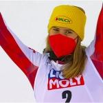 Katharina Liensberger verpasst Sieg beim Nachtslalom von Are knapp