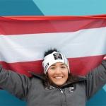 ÖSV Paralympics News: Claudia Lösch trägt die Fahne bei der Eröffnung