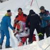 Stefan Luitz wurde zur Untersuchung ins Krankenhaus nach Frutigen geflogen