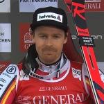 Stefan Luitz freut sich über den neunten Platz in Garmisch-Partenkirchen