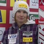 Julia Mancuso gewinnt Abfahrt von Lenzerheide, Lindsey Vonn übernimmt Gesamtweltcup Führung