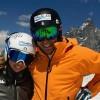 Die Ski-Geschwister Francesca und Matteo Marsaglia geben nie auf