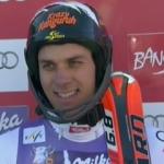 Mario Matt führt beim Slalom in Bansko