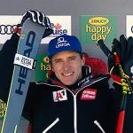 Matthias Mayer fährt beim Super-G von Lake Louise auf Platz 1