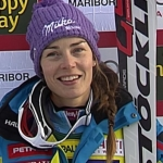 Tina Maze übernimmt mit Traumlauf Führung beim Slalom in Maribor