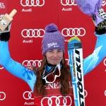 Tina Maze gewinnt Superkombination in Meribel und sichert sich vorzeitig Gesamtweltcup der Saison 2012/13