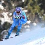 Tina Maze mit Bestzeit beim Abschlusstraining in Garmisch Partenkirchen