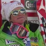 US Amerikanerin Alice McKennis gewinnt überraschend die Abfahrt der Damen in St. Anton