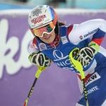 Mélanie Meillard hat ihre Skier wieder angeschnallt