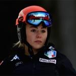 Roberta Melesi triumphiert beim Europacup-Super-G auf dem Neveasattel