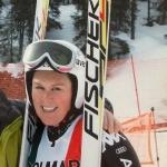 Daniela Merighetti fühlt sich auf Fischer-Ski sehr wohl
