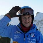 Mutterglück: Daniela Merighetti freut sich über Sonnenschein Anna