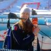 Daumenbruch hindert Roberta Midali nicht an der Reise nach Ushuaia