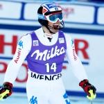 Manfred Mölgg im Wengen-Slalom auf Rang vier