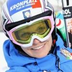 Manuela Mölgg ist wieder bereit, seit zwei Tagen auf den Skiern