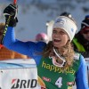 Manuela Mölgg freut sich über Platz drei