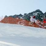 ÖSV Europacup Herren: Perfektes Training am Mölltaler Gletscher