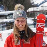 Sieg für Elisa Mörzinger beim 2. Europacup-Riesenslalom in Andalo