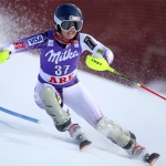US-Girl Paula Moltzan führt bei der Junioren-WM souverän zur Halbzeit des Slaloms