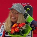 Ragnhild Mowinckel feiert beim Riesenslalom von Ofterschwang ersten Weltcupsieg