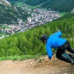 Victor Muffat-Jeandet: Zwischen Skifahren und Mountainbiken.