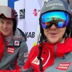 Stefan Rieser und Armin Dornauer sorgen für Super-G Doppelsieg bei der Junioren-WM in Narvik