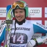 Felix Neureuther führt beim Riesenslalom von Garmisch Partenkirchen