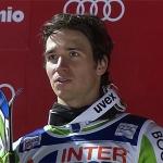 Felix, der Glückliche, freut sich über Sieg beim Slalom in Bormio