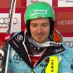 Felix Neureuther liegt im Slalom von Are nach dem 1. Durchgang in Führung