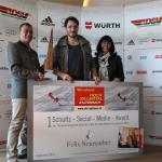 Felix Neureuther gewinnt Schultz-Social-Media-Award