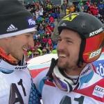 Felix Neureuther und Marcel Hirscher, zwei Freunde fürs Leben