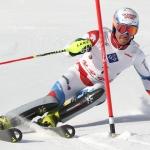 Mit Schweizer Slalommeister Bernhard Niederberger hat niemand gerechnet