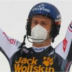 Clément Noël freut sich über den Slalom-Tagessieg in Kranjska Gora, Marco Schwarz über die kleine Slalom Kristallkugel