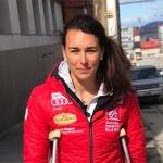Schockdiagnose: Nastasia Noens zog sich einen Schienbeinbruch zu