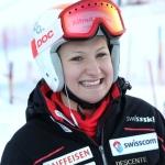 Priska Nufer gewinnt Schweizer Abfahrtstitel 2018