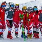 ÖSV News: ÖSV Speed-Damen absolvierten Abfahrtstraining in Zauchensee