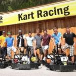 ÖSV-Stars liefern sich Kart Rennen im ÖAMTC Fahrtechnik Zentrum Saalfelden/Brandlhof