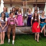 ÖSV Europacup-Damen zu Gast beim Stanglwirt