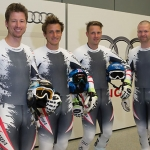 ÖSV NEWS: Abfahrts-Quartett testete im Audi Windkanal