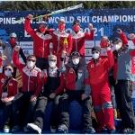 Ski-Junioren-WM 2021: Lukas Feurstein gewinnt die WM-Goldmedaille im Riesenslalom.